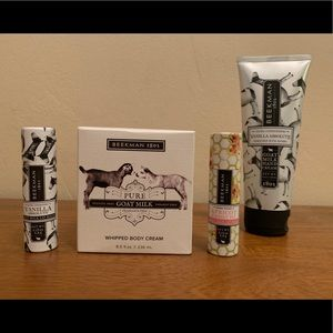 Beekman 1802 skin care set